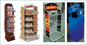 Wire, Wood, Acrylic Point of Purchase display manufacturer